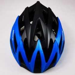 Helmet GW Mantis Black Blue Neon Skating and Cycling