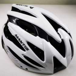 Helmet GW Mantis White and Black Sparkles Skating and Cycling