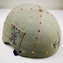 Helmet Hannah Montana For Roller Derby