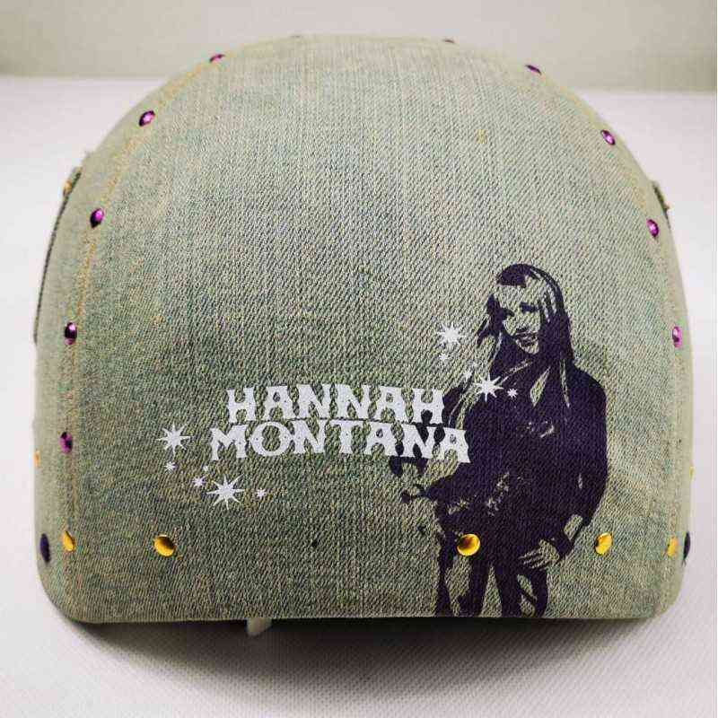 casco de para patinar patinaje Roller Derby para mujer niña dama Hannah Montana