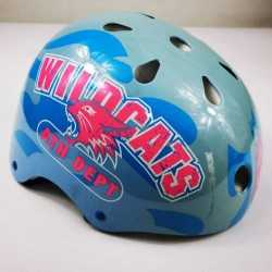 casco de para patinar patinaje Roller Derby para mujer niña dama WildCats