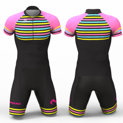 Stripes Cycling Suit