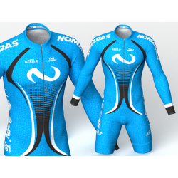 Evolution Nomadas blue skating suit
