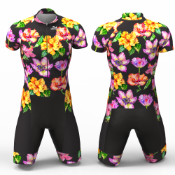 Hibiscus flower black for women men boys girls