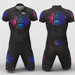 Mandala Cycling Suit for women men girls boys