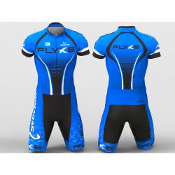 Flyke blue skating suit...