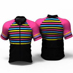 STRIPES ENTERIZO Cycling Jersey for women and men