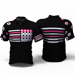 Circles Cycling Jersey for women men