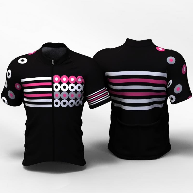 Circles Camiseta jersey de ciclismo nomadas mujeres y hombres