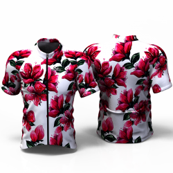 RED BLOSSOM white  Jersey for women men