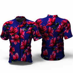 RED BLOSSOM blue Jersey for women men