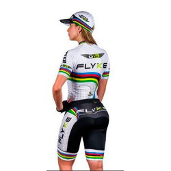 Flyke white skating suit for girls, boys, men, women