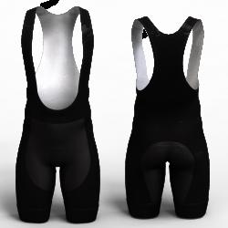 full negro pantaloneta de ciclismo nomadas para mujeres y hombres