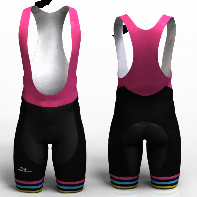 STRIPES pantaloneta de ciclismo nomadas para hombre y mujer