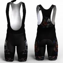 SKULL-TIGER pantaloneta de ciclismo nomadas para hombre y mujer