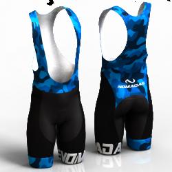 camuflado azul pantalon de ciclismo nomadas para mujeres y hombres