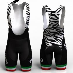 zebra pantalon de ciclismo nomadas para mujeres y hombres