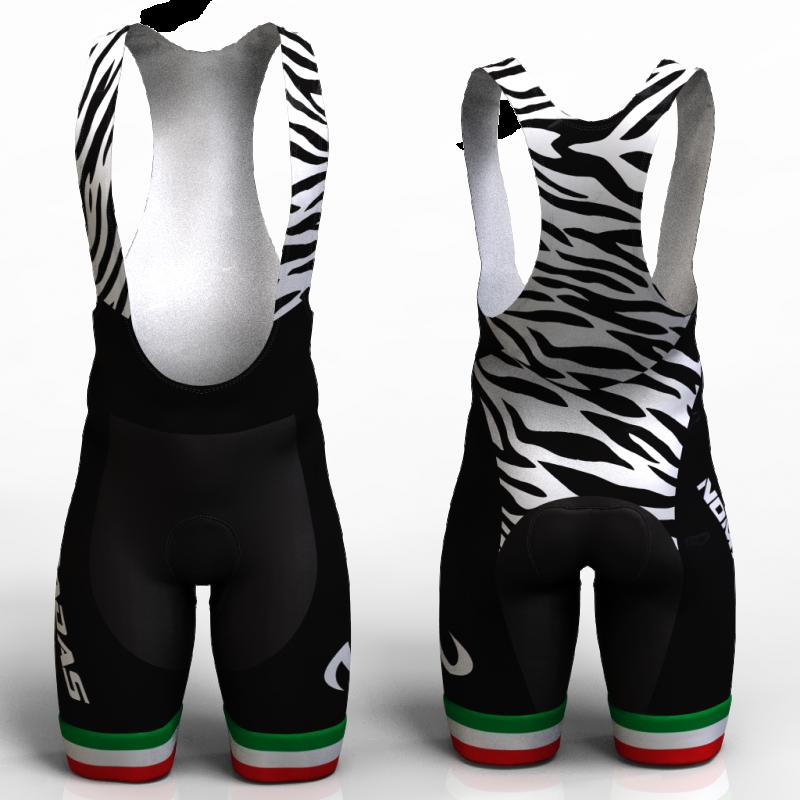 Zebra Cycling Shorts for women and men