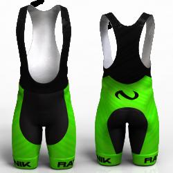 Ratnik verde pantalon de ciclismo nomadas para mujeres y hombres