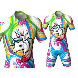 licra para patinaje para niñas niños hombres mujeres unicornio