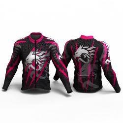 DRAGON FORCE FUCHSIA Cycling Jersey women and men