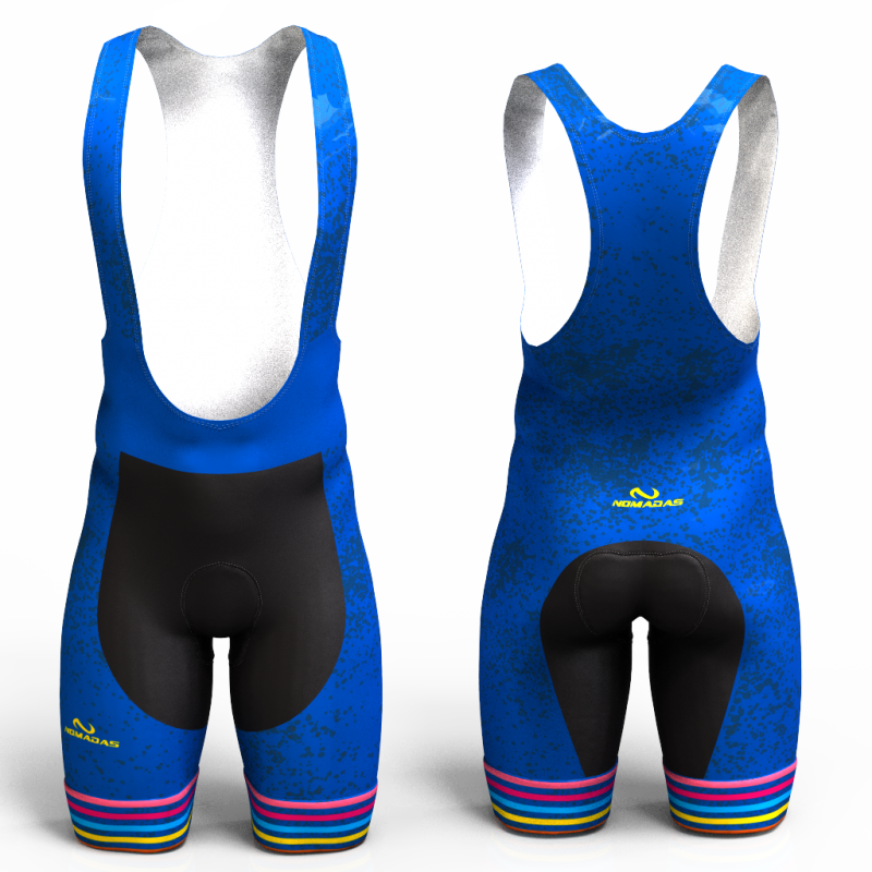 BLUE RAINBOW  Cycling Shorts for women and men