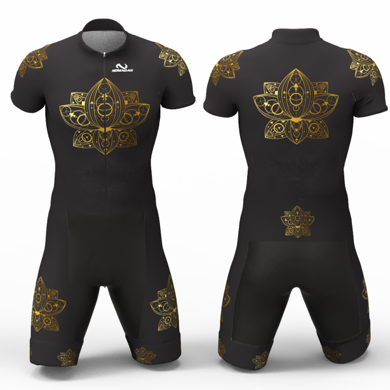 mandala GOLD skating suit for boys, girls, men, women