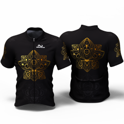 MANDALA GOLD Cycling Jersey women and men