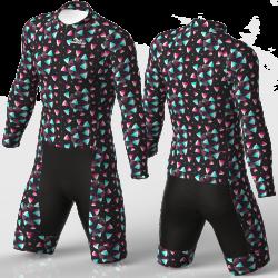 SANDIA BLACK skating suit for boys, girls, men, women