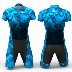 Blue Camouflage  Cycling suit FOR MEN WOMEN BOYS GIRLS