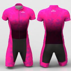 Fuchsia Camouflage  Cycling suit FOR MEN WOMEN BOYS GIRLS