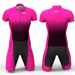 Camouflage Fuchsia skating suit, beautiful stylish design for boys, girls, men and women