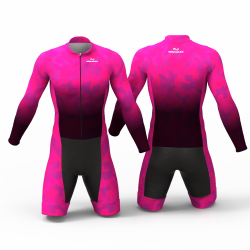 Camouflage Fuchsia skating suit, beautiful stylish design for boys, girls, men and women