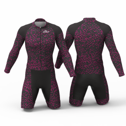 FIBER CARBON FUCHSIA skating suit, beautiful stylish design for boys, girls, men and women