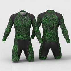 FIBER CARBON NEON GREEN skating suit, beautiful stylish design for boys, girls, men and women