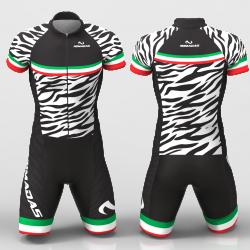 ZEBRA Cycling suit for men women boys girls