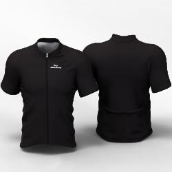 Full Black Camiseta Jersey de ciclismo nomadas PARA HOMBRES Y MUJER