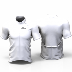 Full white Cycling Jersey women and men