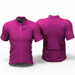 Full Purple Cycling Jersey women and men