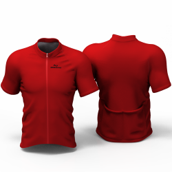 Full Red Cycling Jersey women and men