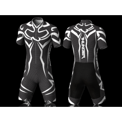 Thunder white skating suit