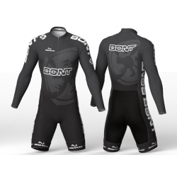 Bont black skating suit