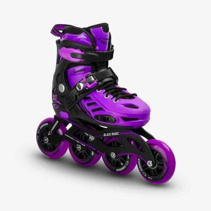 Patin CANARIAM Black Magic Purple/Morado para niños niñas baratos economicos
