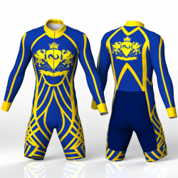 Royal skating suit