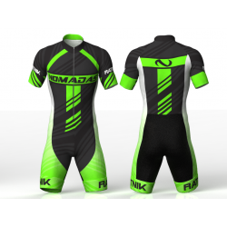 Ratnik neon green skating suit