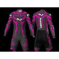 Thunder fuchsia skating suit, for girls boys women and men