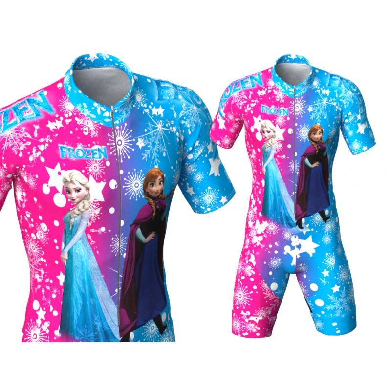 Frozen inline skating suit