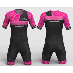Kitty fuchsia skating suit