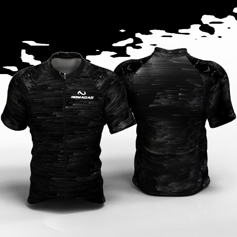 Black Hole Camiseta de ciclismo nomadas para mujeres,hombres