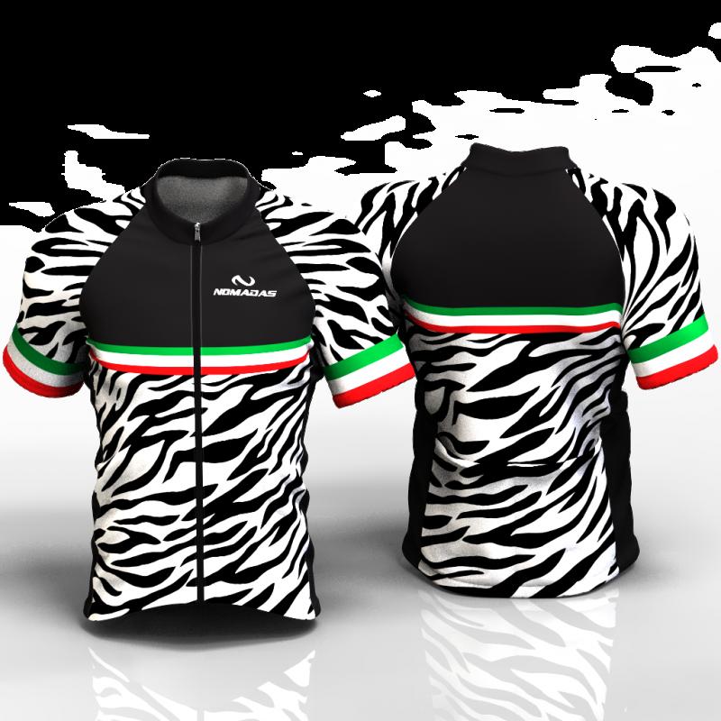 Zebra Cycling Jersey